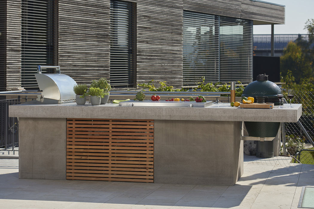Outdoor Küchen Aus Beton : Freunde im garten bekochen outdoor küchen