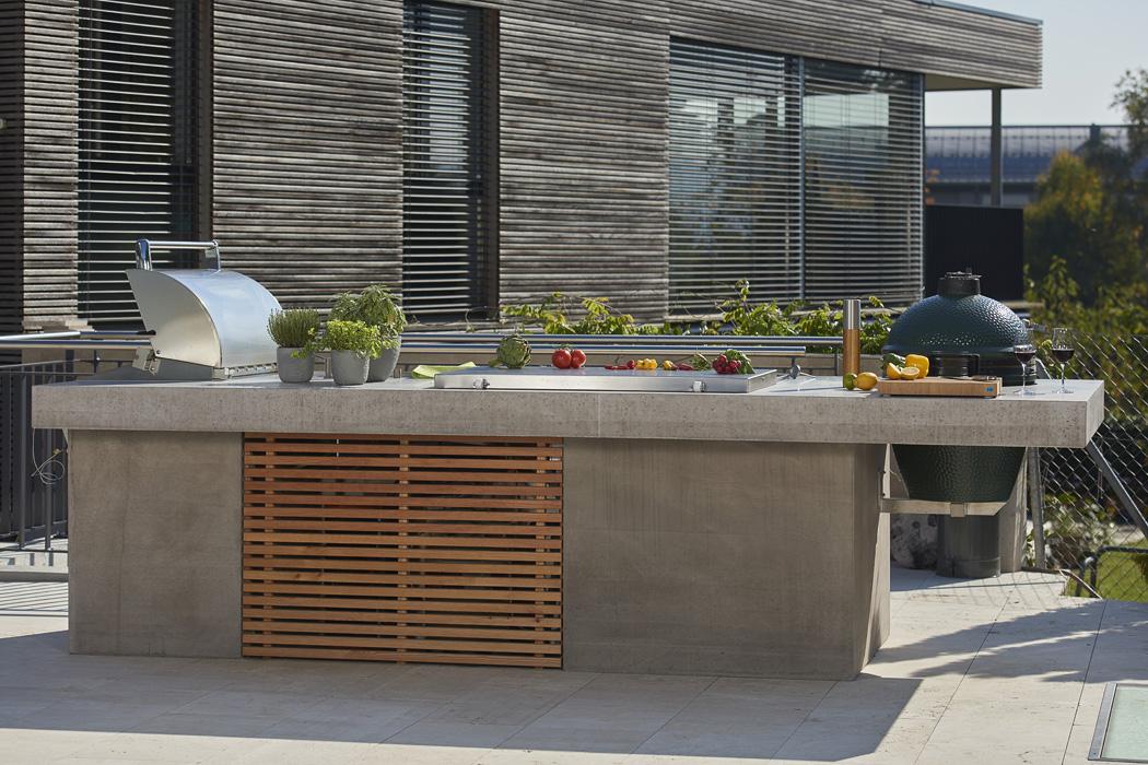 Outdoor Küche Aus Beton : Outdoor küche beton taiko club